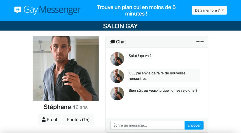 gay messenger