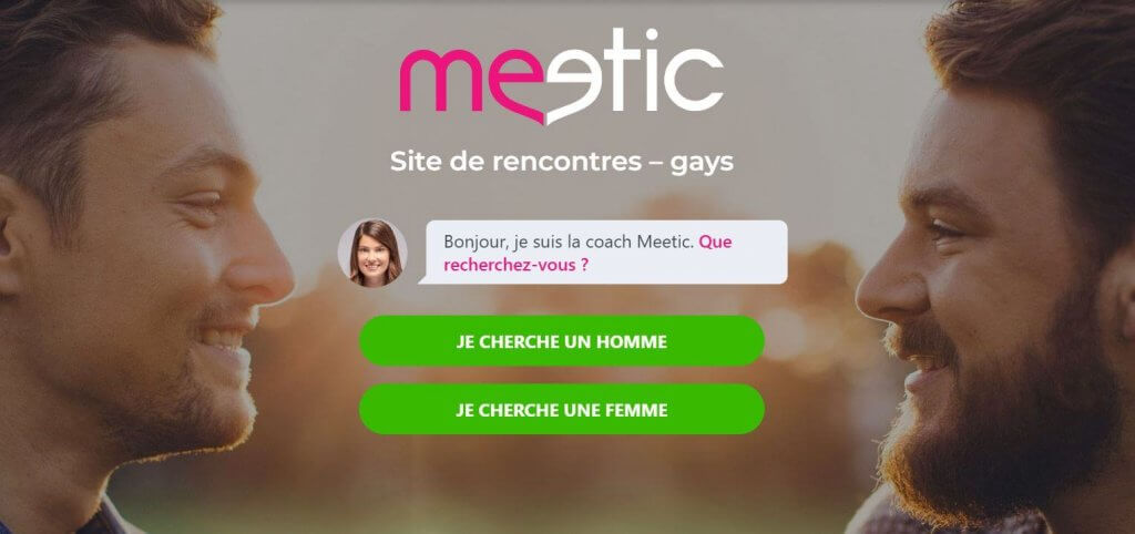 meetic gay interface