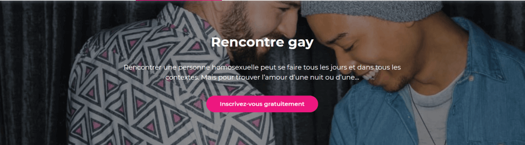 meetic gay home page